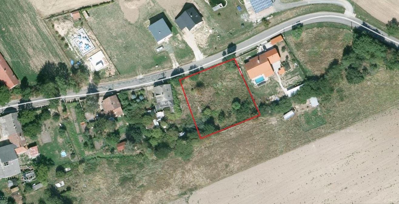 Prodej stavebního pozemku 1528 m2 Číbuz
