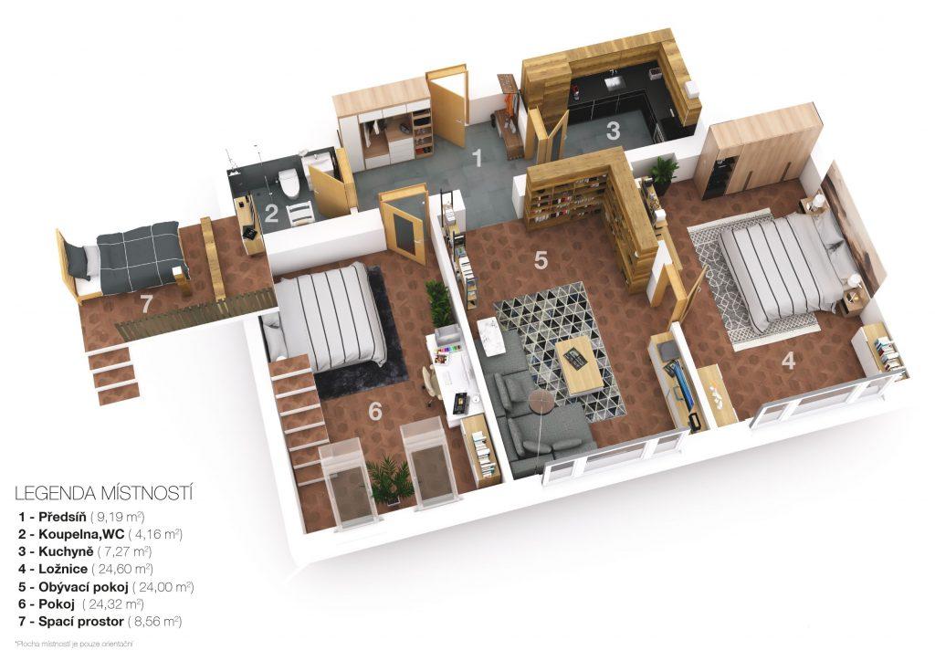 Prodej bytu 3+1 93 m² Krkonošská, Praha 2 – Vinohrady